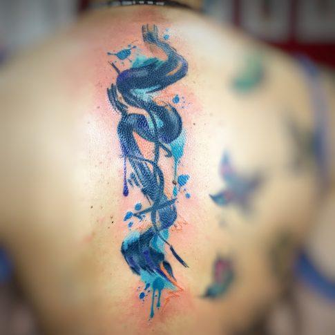 Wolly Tattoo